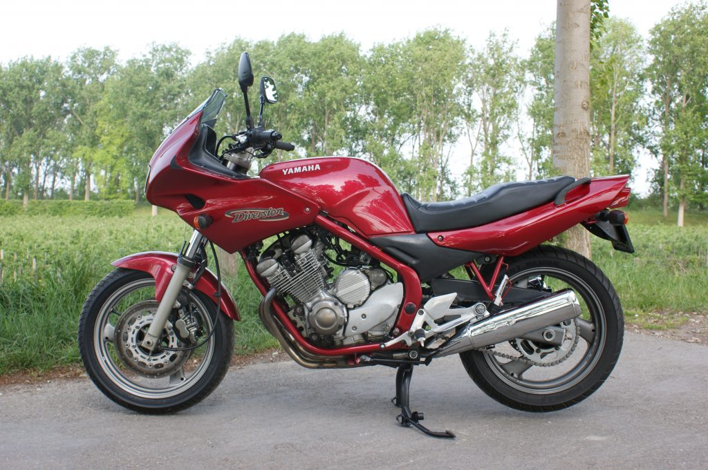 VERKOCHT Yamaha XJ600S Diversion